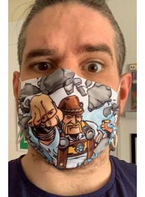 TRACHT MAN Mund-Nasenmaske