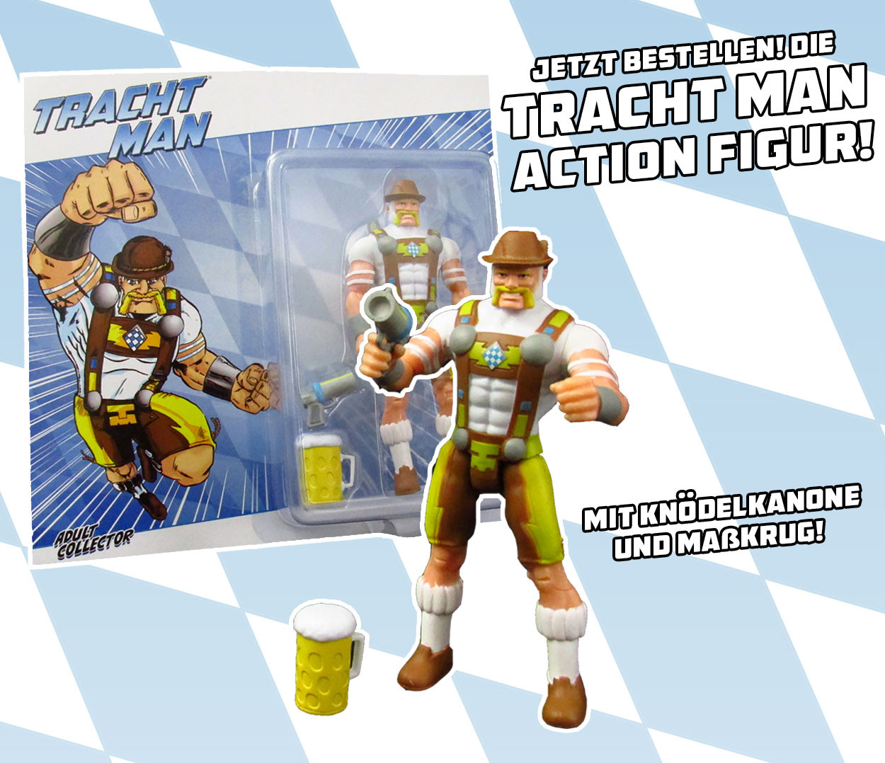 Tracht Man Action Figur