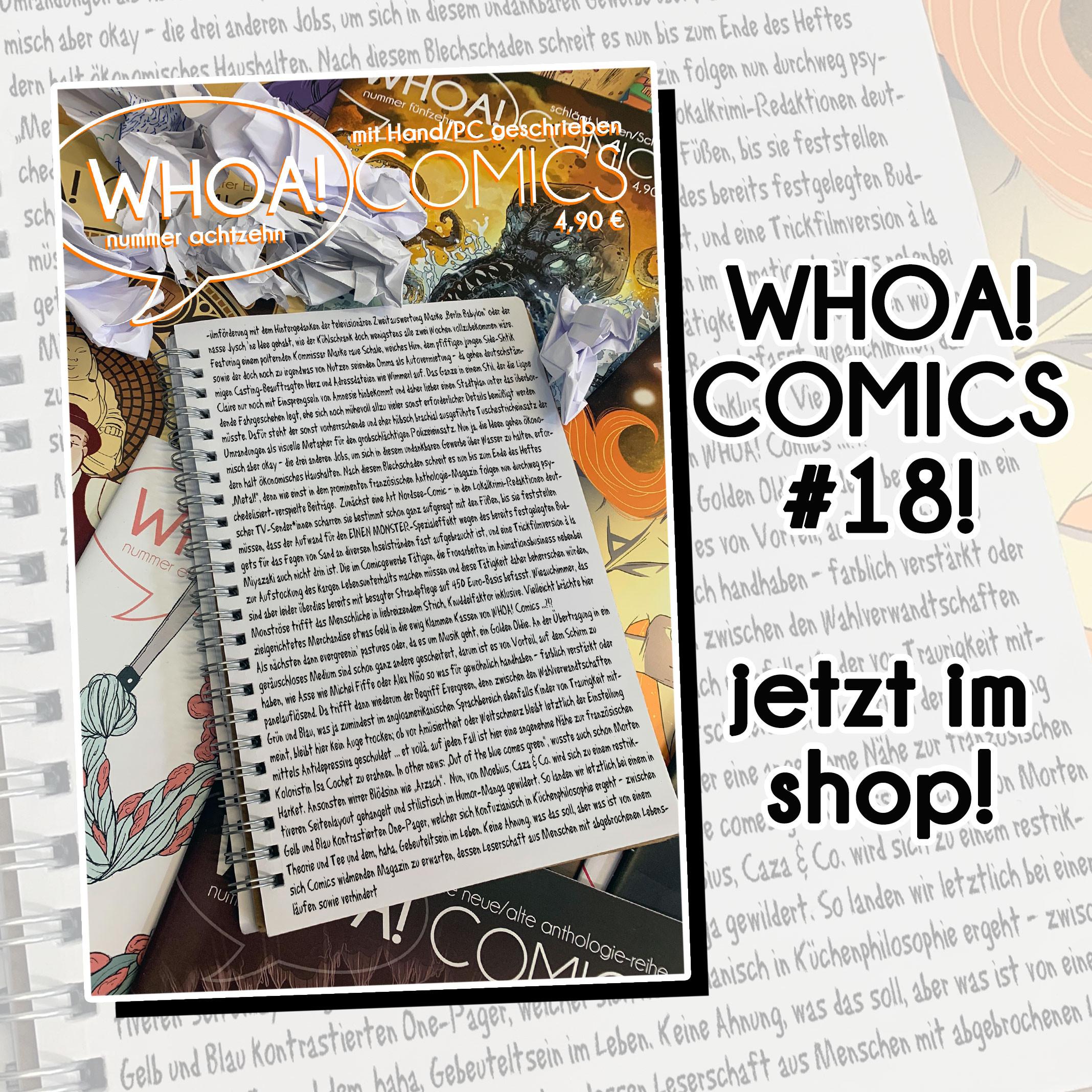 WHOA! COMICS #18